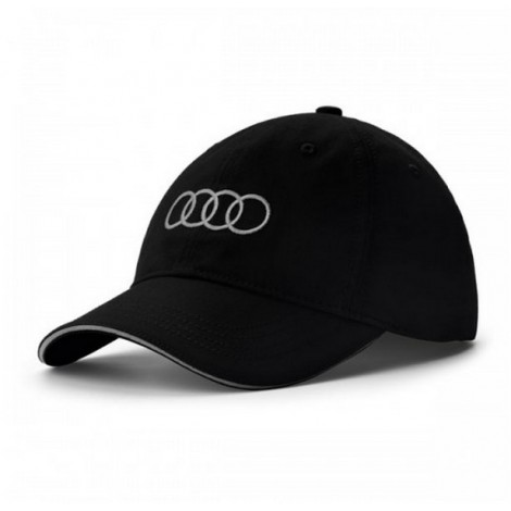 casquette noir AUDI