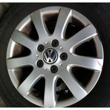 jante aluminium 16p 5x112 VW Golf 5 1K 03 à 08, Gofl 6, Gofl Plus, Touran, Eos d'occasion