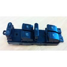 bouton de lève vitre avant gauche avec 4 vitres électriques - VW Golf 4 1J 98 à 03 5portes, Bora, Passat B5 96 à 05