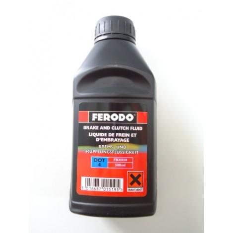 liquide de frein DOT 4 le 1/2 litre