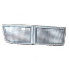 cache anti brouillard avant gauche long blanc - VW Golf 3 de 91 à 97 et Vento