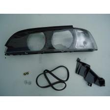 Verre de phare E39 AVG blanc -00 BMW