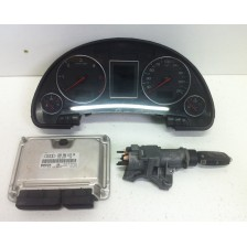 ensemble calculateur+compteur+neiman Audi A4 8E/B6 00 à 04 d'occasion