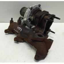 turbocompresseur 045253019L Audi A2, VW Polo 9N 01 à 09, Fox d'occasion