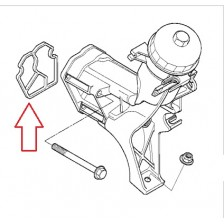 Joint de support de filtre à huile M47 E46/E39 BMW
