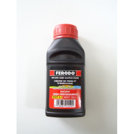 Liquide de frein DOT 5.1/250ml