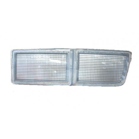 cache anti brouillard avant droit long blanc - VW Golf 3 de 91 à 97 et Vento