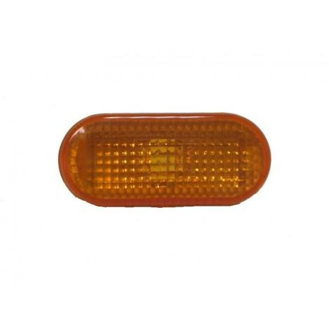 repetiteur aile ovale orange - Golf 3 (91à97) / Polo (94à99) / Vento / Sharan (95à00) / Passat (93à96)