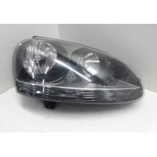 phare avant droit fond noir VW Golf 5 1K 03 à 08 d'occasion
